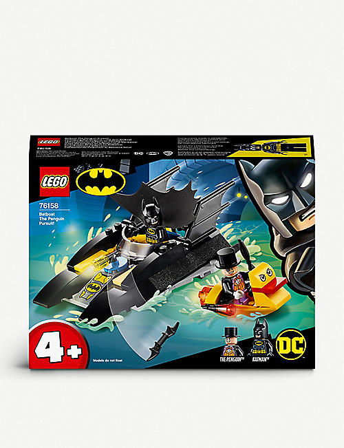 LEGO : LEGO ® Batman 76158 Boatboat The Penguin Pursuit kit