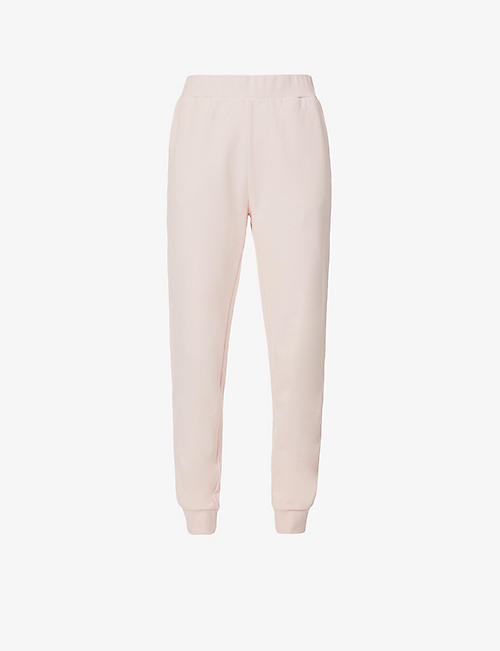 ERNEST LEOTY: Anouk tapered high-rise cotton-jersey jogging bottoms