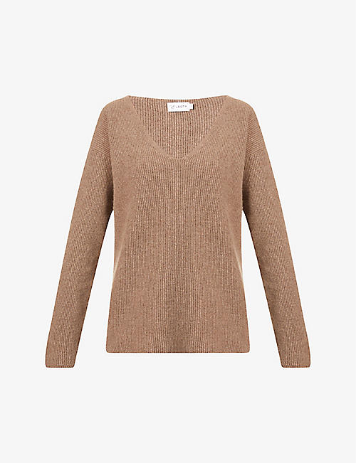 ERNEST LEOTY: Eloise wool and cashmere-blend jumper