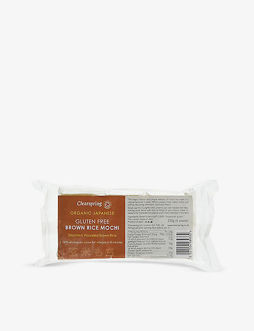 CLEARSPRING: Organic Japanese brown rice mochi 250g