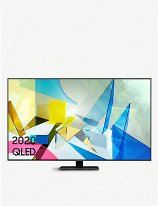 "SAMSUNG: 2020 75"" Q80T QLED 4K HDR Smart TV"