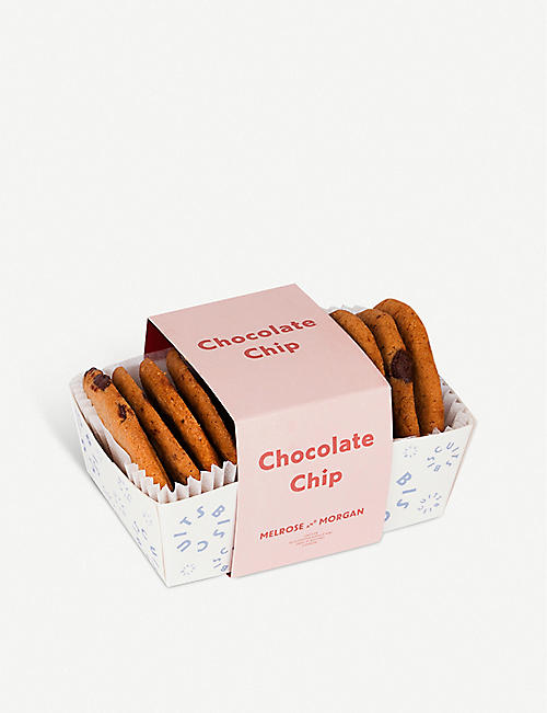 MELROSE & MORGAN: Chocolate chip biscuits 175g
