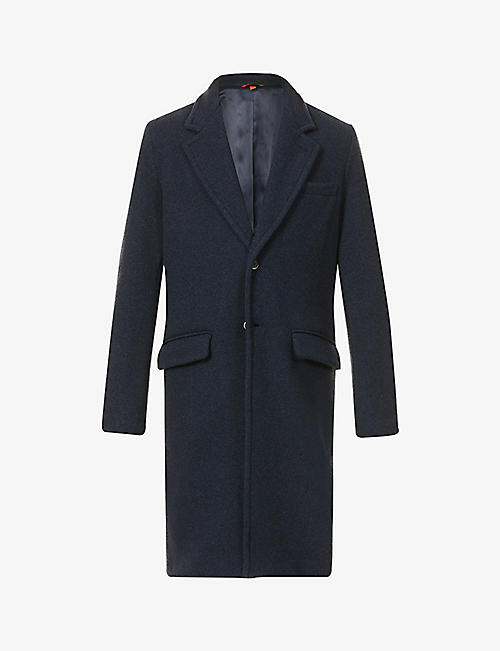 BARENA VENEZIA: Oversized wool-blend coat
