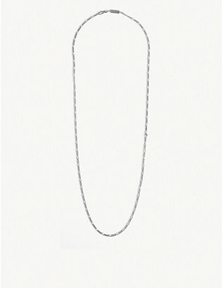 NORTHSKULL: Sterling silver chain necklace