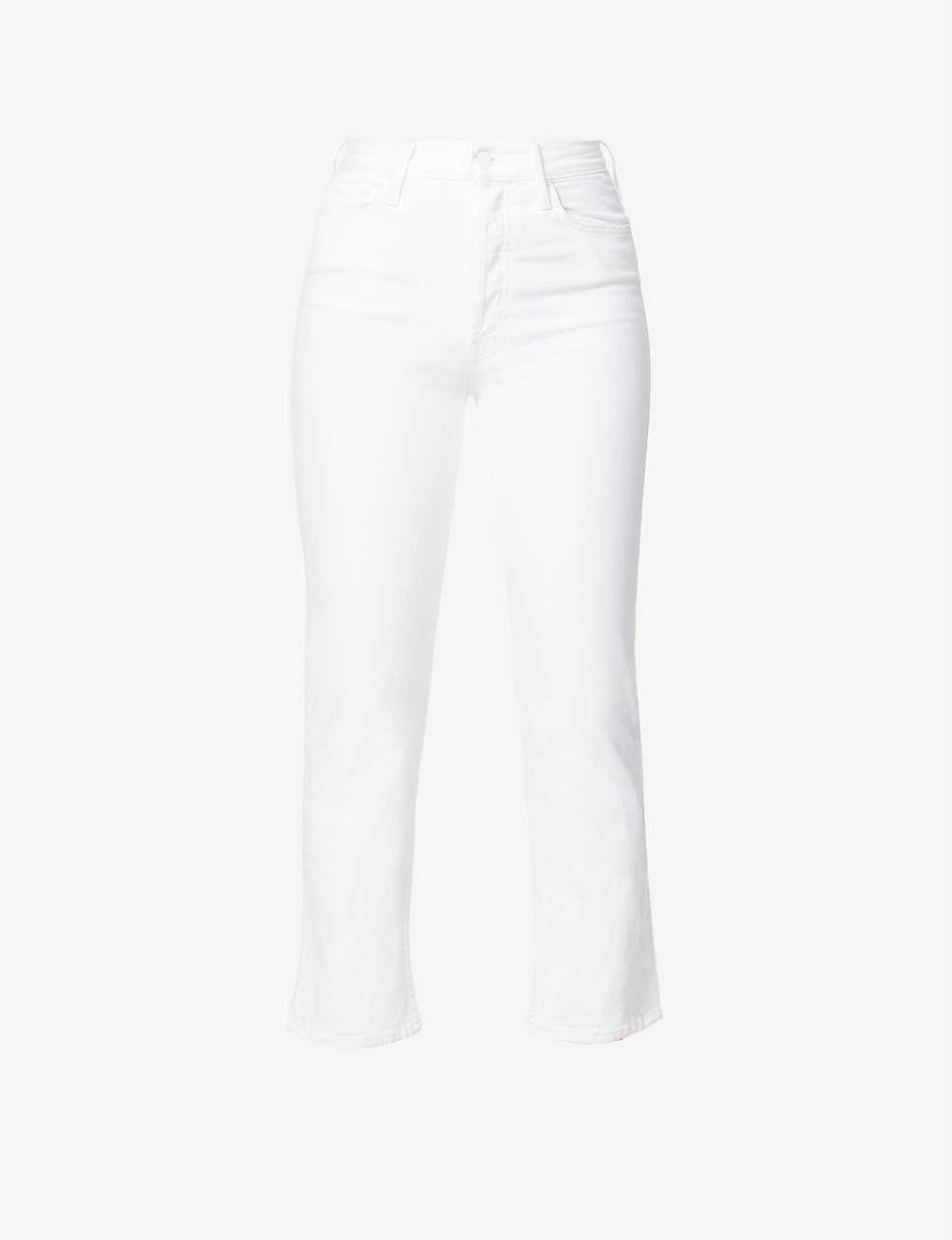 MOTHER: The Tomcat slim-fit straight high-rise jeans