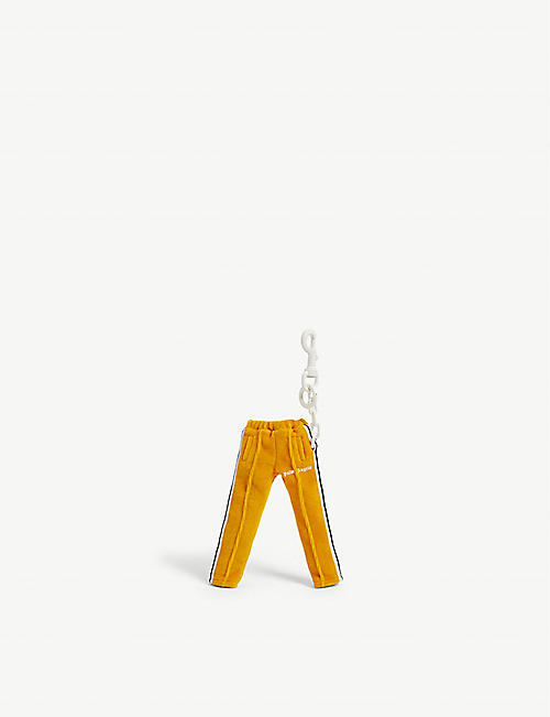 PALM ANGELS: Mini track pants keychain