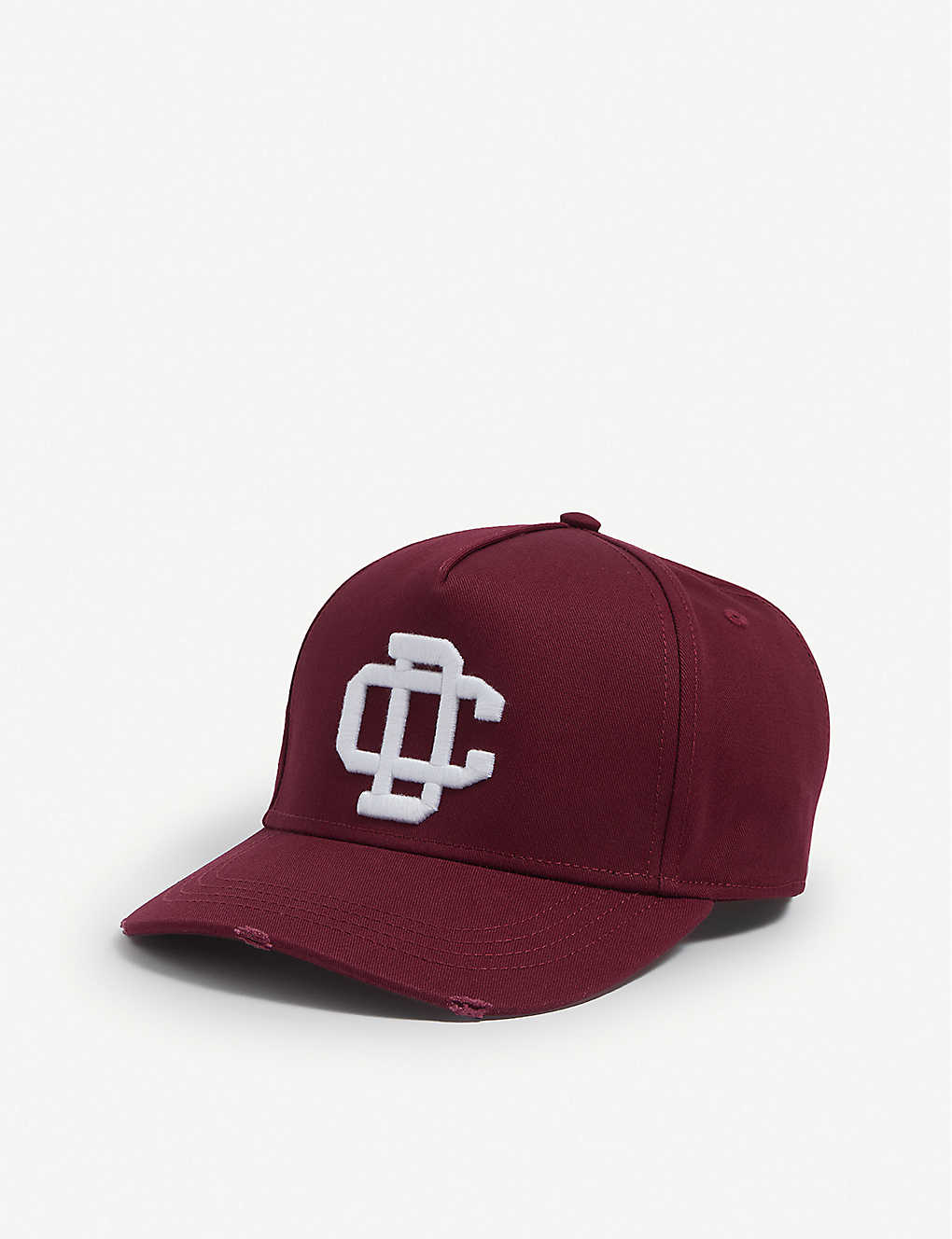 DSQUARED2 ACC: Logo-embroidered cotton cap