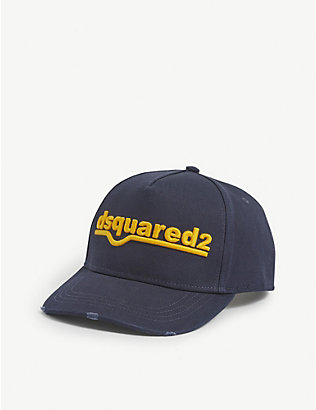 DSQUARED2 ACC: Logo-embroidered baseball cap