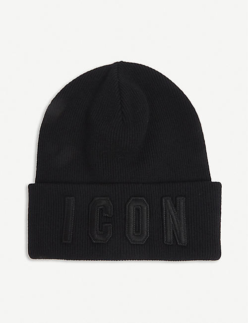 DSQUARED2 ACC: Icon wool beanie