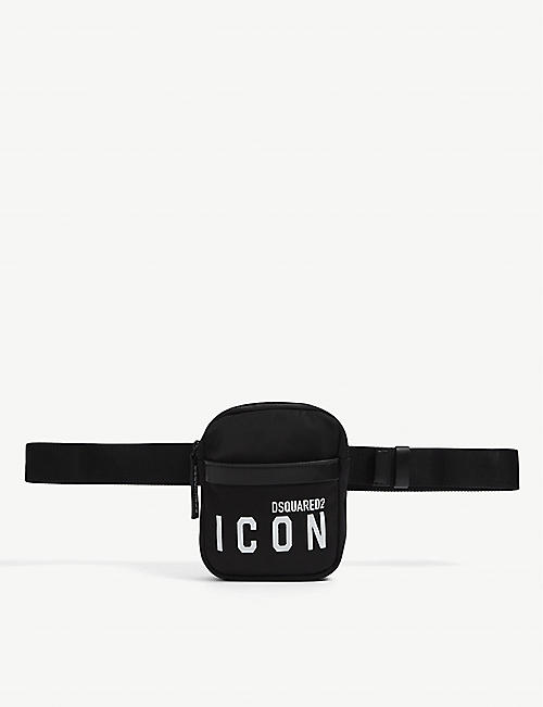 DSQUARED2 ACC: Icon nylon belt bag