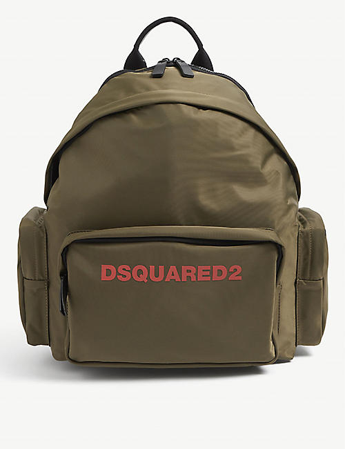 DSQUARED2 ACC: Icon nylon backpack