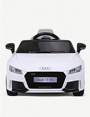 RICCO: Audi TT RS Licenced Battery Powered Kids Electric Ride On Toy Car