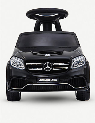 RICCO: Mercedes Benz GLS63 Licensed Kids Electric Foot to Floor Ride on Car