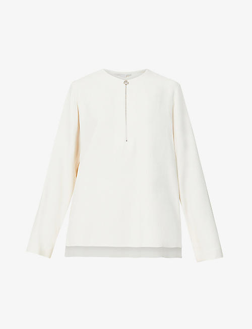 STELLA MCCARTNEY: Arlesa stretch-crepe top