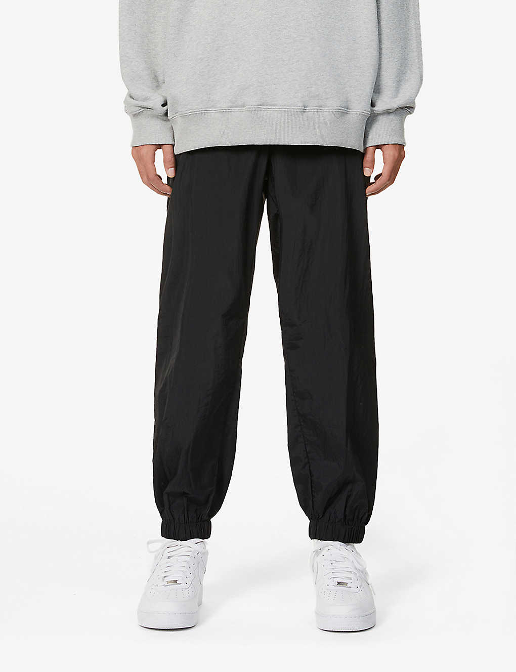 OPENING CEREMONY: Tapered mid-rise shell jogging bottoms