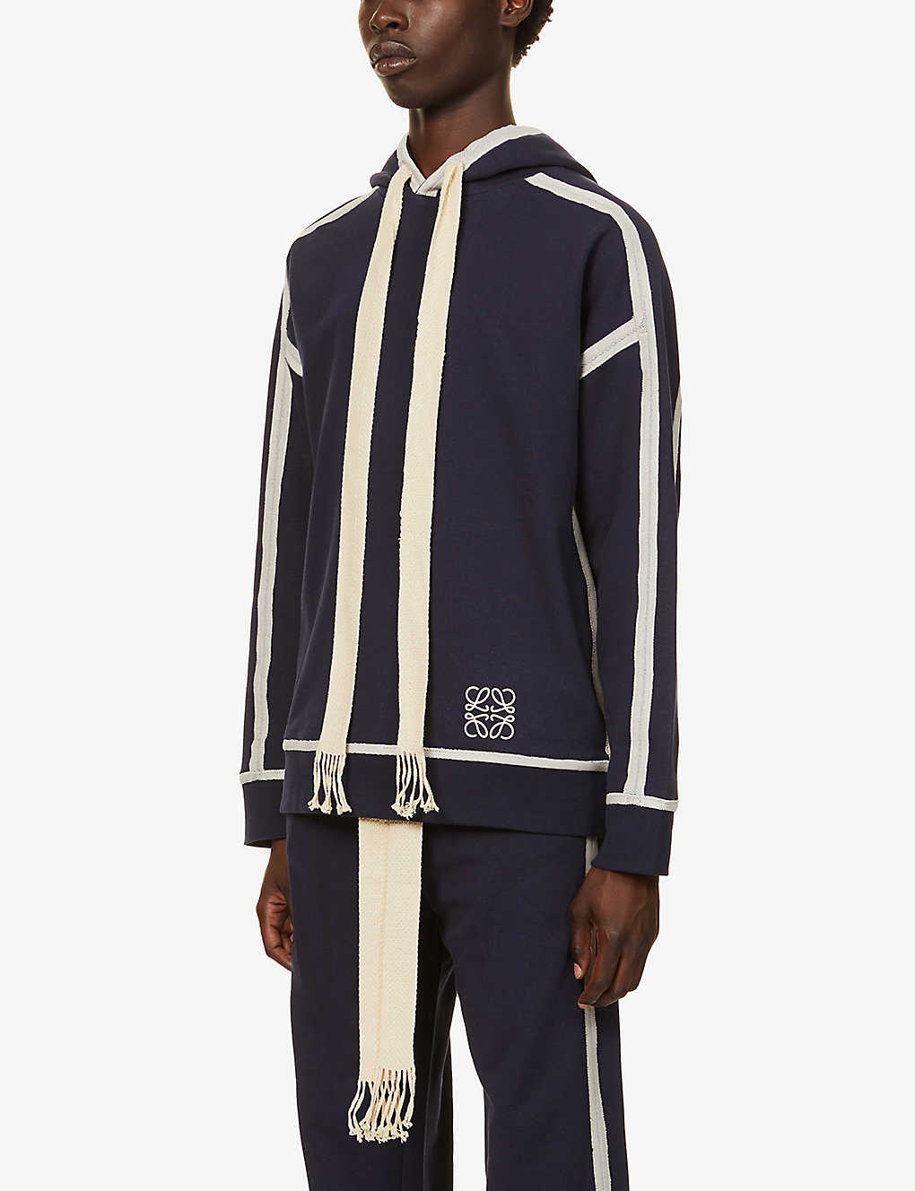 LOEWE: Anagram cotton-jersey jogging bottoms