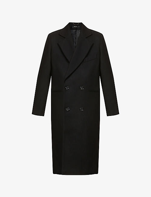 MISBHV: Double-breasted wool-blend coat
