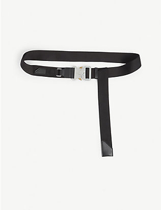 1017 ALYX 9SM: Buckled woven belt