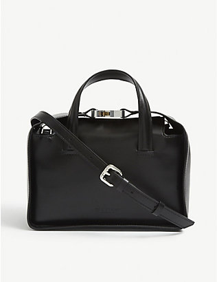 1017 ALYX 9SM: Brie buckle-embellished leather tote bag