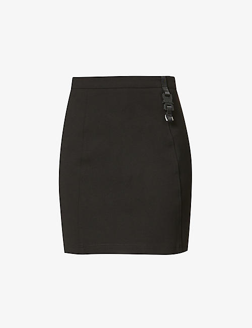 1017 ALYX 9SM: High-waisted stretch-woven mini skirt