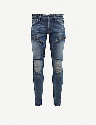 G-STAR: Air Defence 3D faded skinny jeans