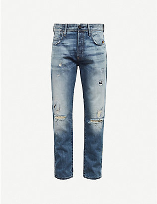 G-STAR: Alum relaxed-fit tapered jeans