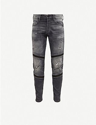 G-STAR: Motac 3D slim-fit stretch-denim jeans
