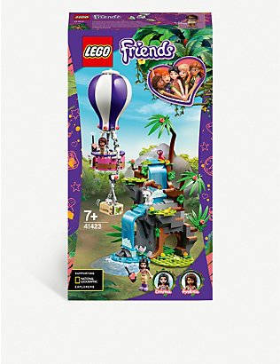 LEGO: LEGO® Friends 41423 Tiger Hot Air Balloon Jungle Rescue playset