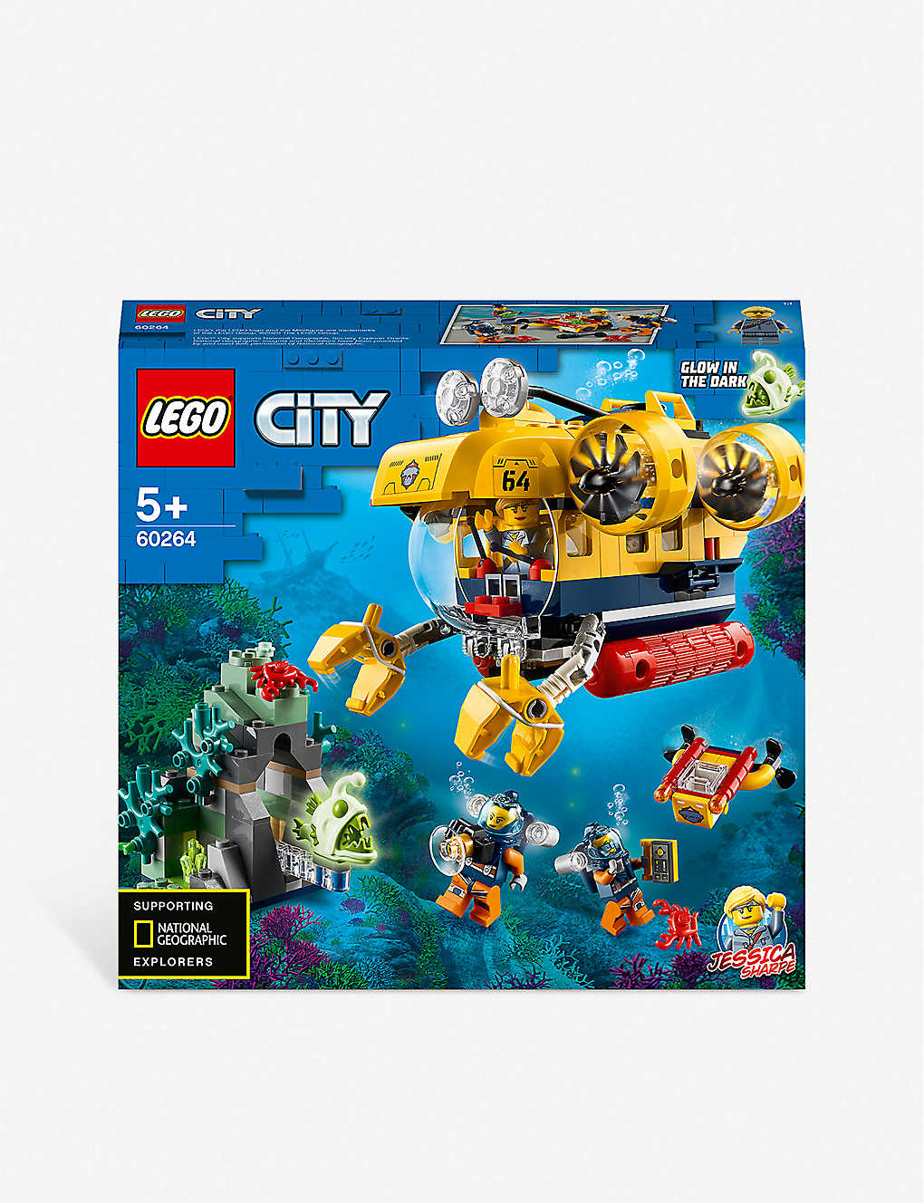 LEGO: LEGO® City 60264 Ocean Exploration Submarine playset