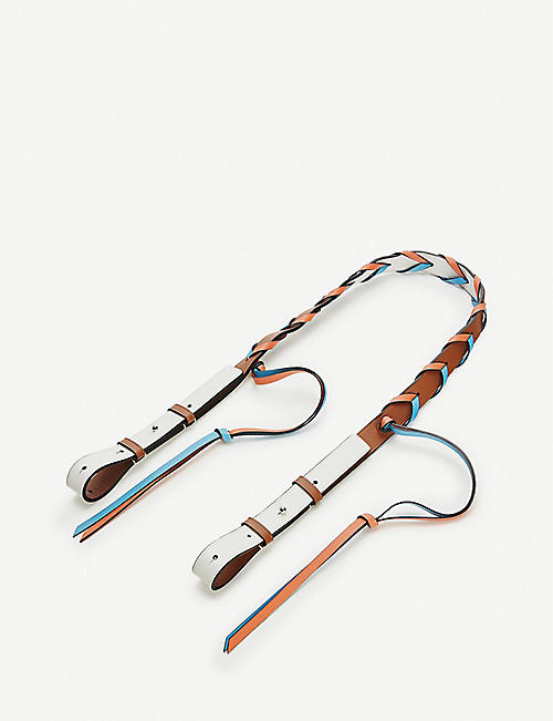LOEWE Loewe x Paula's braided leather strap