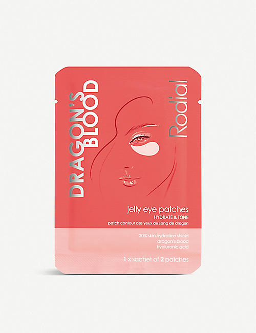RODIAL: Dragon's Blood jelly eye patches 1 pair