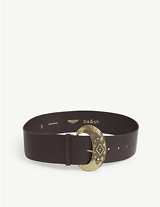 BA&SH: Benita leather belt