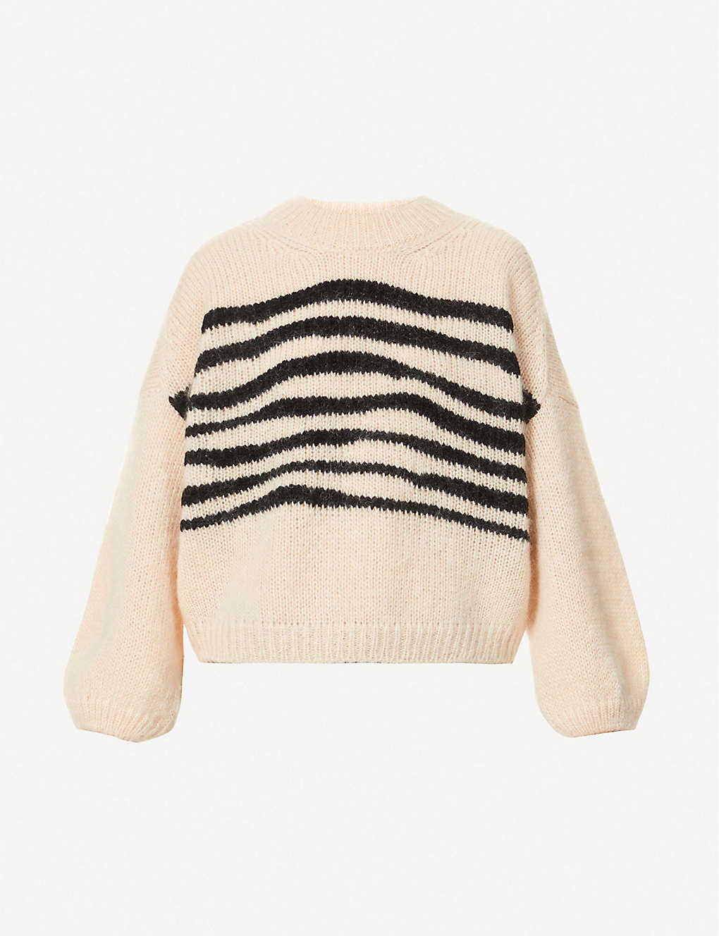 BA&SH: Will striped mohair and wool-blend jumper