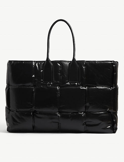 BOTTEGA VENETA: Squash large leather tote bag