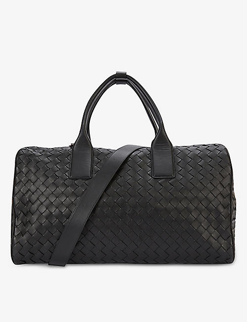 BOTTEGA VENETA: Basketweave leather tote bag