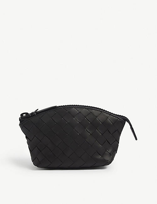 BOTTEGA VENETA: Intrecciato leather duffle bag