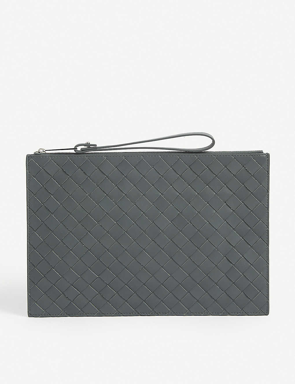BOTTEGA VENETA: Intrecciato leather pouch