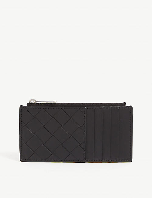 BOTTEGA VENETA: Intrecciato leather wallet