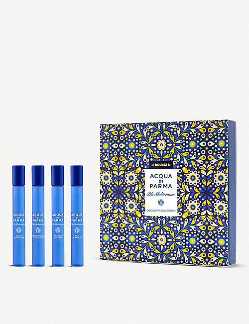 ACQUA DI PARMA: Blu Mediterraneo Discovery roll-on gift set 4x10ml