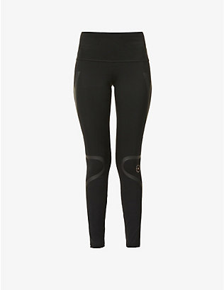ADIDAS BY STELLA MCCARTNEY: Truepur high-rise stretch-recycled polyester leggings