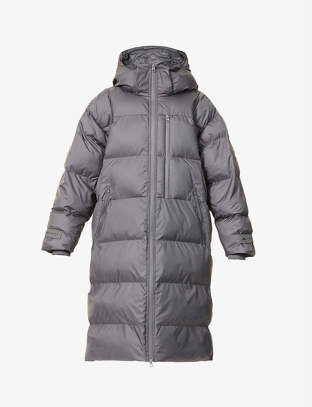 ADIDAS BY STELLA MCCARTNEY: Quilted padded recycled-polyester puffer jacket