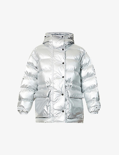 ADIDAS BY STELLA MCCARTNEY: Quilted padded recycled-polyamide puffer jacket