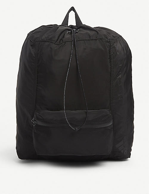 ADIDAS BY STELLA MCCARTNEY: Drawstring shell backpack