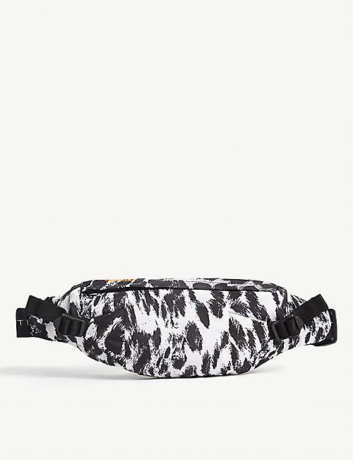 ADIDAS BY STELLA MCCARTNEY: Recycled nylon leopard print bumbag