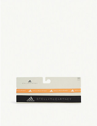 ADIDAS BY STELLA MCCARTNEY: Logo headbands set of two