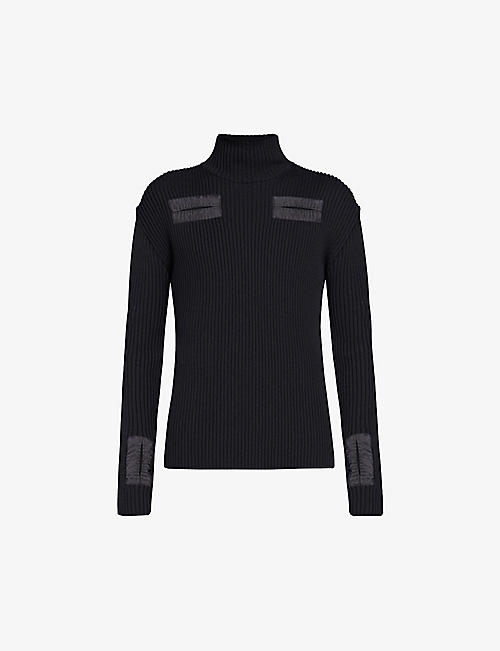 BOTTEGA VENETA: Merino wool turtleneck jumper