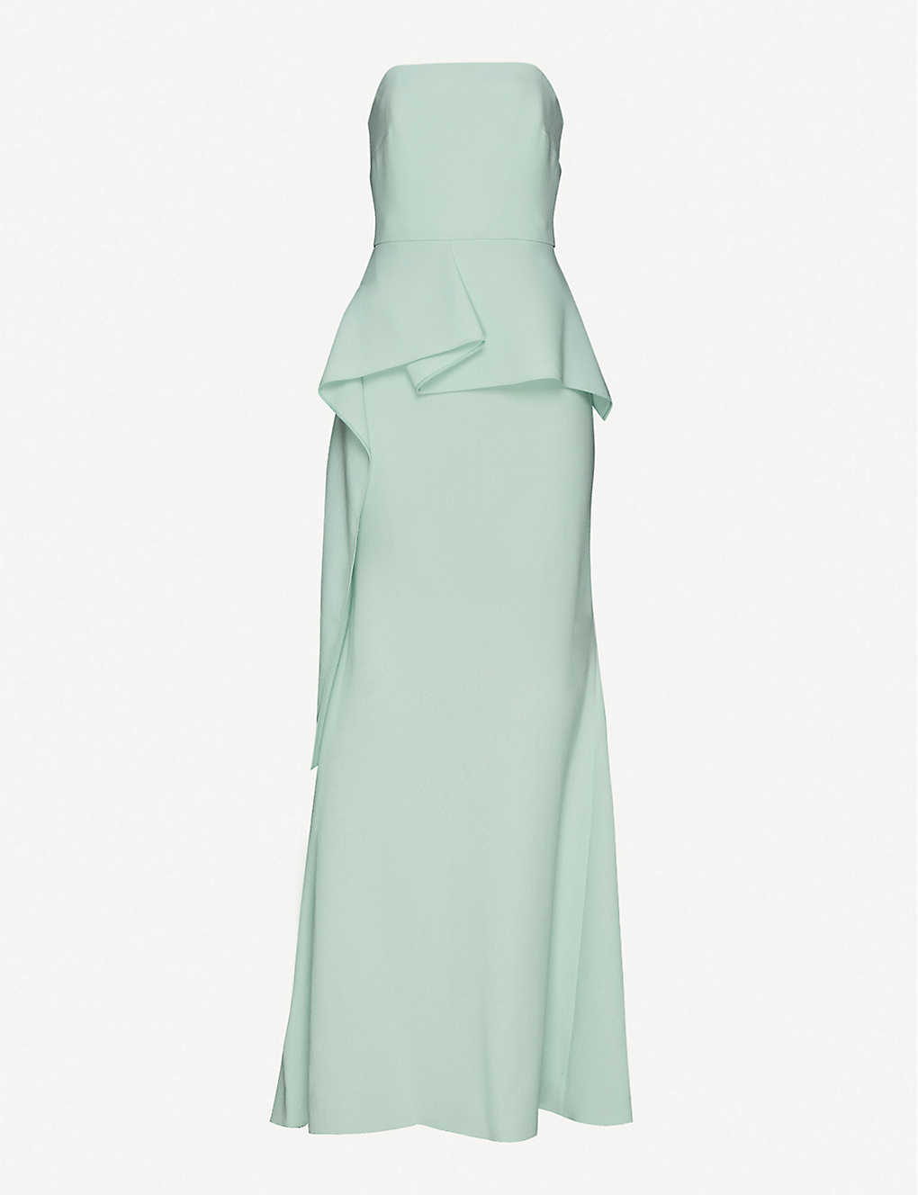 ROLAND MOURET: Adrienne wool maxi dress