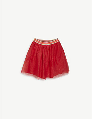 BILLIE BLUSH: Glitter tulle skirt 4-12 years