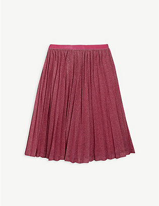 BILLIE BLUSH: Embellished tulle skirt 4-12 years
