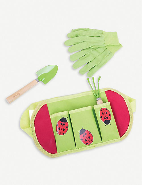 BIGJIGS: Gardening belt and tools set of four